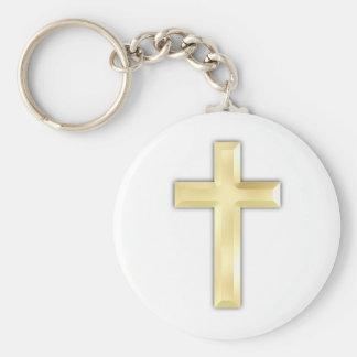 Golden Crosses Key Chains