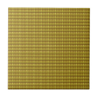 Golden CRYSTAL Template Tile