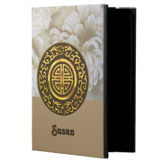Golden Dragons and Chrysanthemums Cover For iPad Air