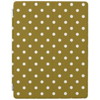 Golden Elm Polka Dot iPad Cover