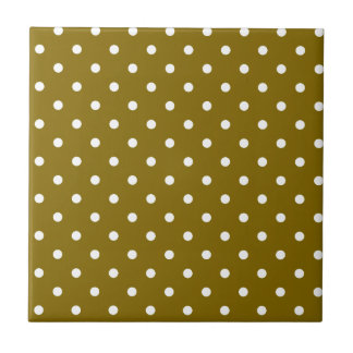 Golden Elm Template Small Square Tile