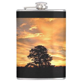 Golden Farm Sunrise Flask