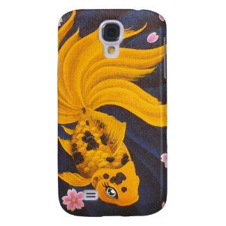 Golden Fishie I-Pod3 Galaxy S4 Case