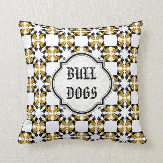 Golden French BullDog Throw Pillow