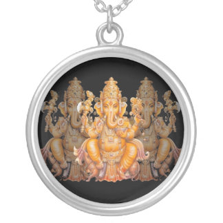 Golden Ganesh necklace