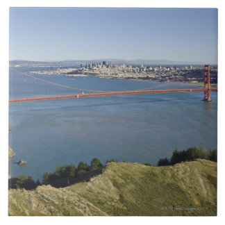 Golden Gate Bridge and San Francisco. 4 Tile