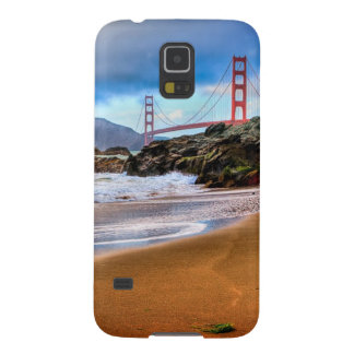 Golden Gate Bridge at sunset Galaxy S5 Covers
