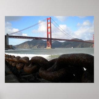 Golden Gate Bridge from Crissy Field Poster