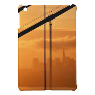 Golden Gate Bridge in front of the San Francisco Case For The iPad Mini