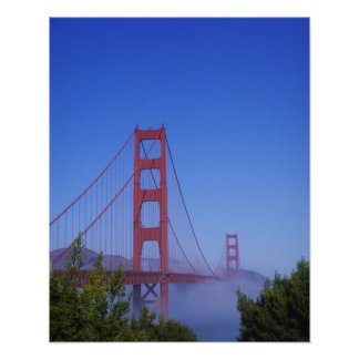 Golden Gate Bridge, San Francisco, California, Poster