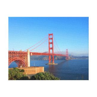 Golden Gate Bridge, San Francisco Canvas Stretched Canvas Prints