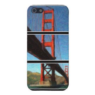 Golden Gate Bridge Triptych iPhone 5/5S Covers