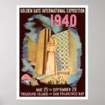 Golden Gate International Exposition 1940 Print