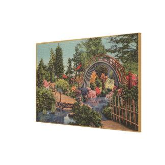 Golden Gate ParkTea Garden- San Francisco, CA Stretched Canvas Prints