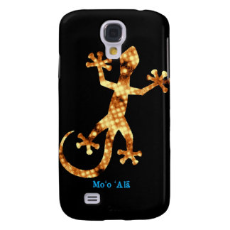 Golden Hawaiian Gecko Galaxy S4 Case