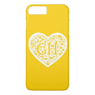 Golden Heart Class Reunion Logo iPhone 7Plus Case