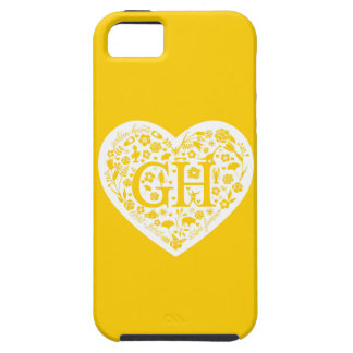 Golden Heart Reunion Class Logo Iphone 5 Case