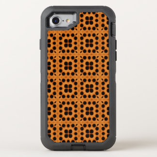Golden Honeycomb Pattern OtterBox Defender iPhone 8/7 Case