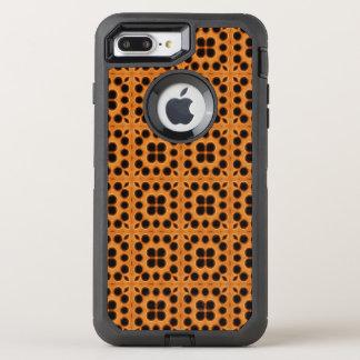 Golden Honeycomb Pattern OtterBox Defender iPhone 8 Plus/7 Plus Case