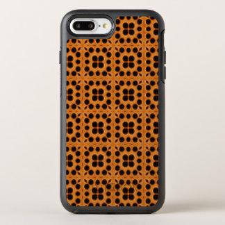 Golden Honeycomb Pattern OtterBox Symmetry iPhone 8 Plus/7 Plus Case