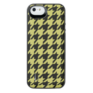 Golden Houndstooth 2 iPhone SE/5/5s Battery Case