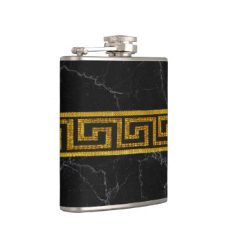 Golden Key Hip Flask