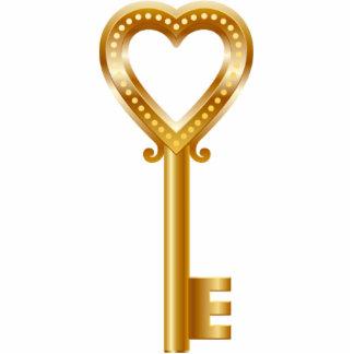 Golden Key Magent Cut Out