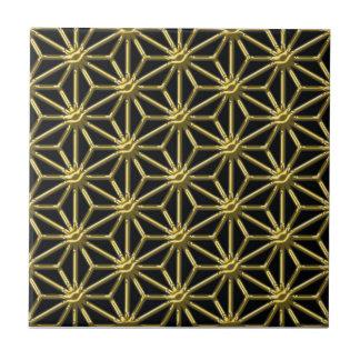 Golden lattice tile