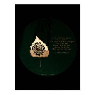 Golden Leaf Post Cards