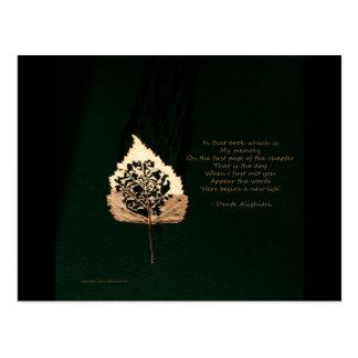 Golden Leaf Post Card