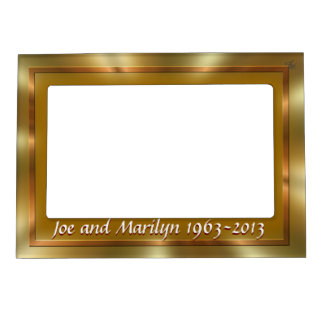 Golden Magnetic Frame- customize Magnetic Frames