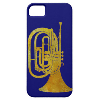 Golden Marching French Horn iPhone 5 Cases