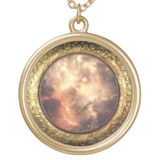 golden nebula necklace