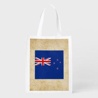Golden New Zealand Flag