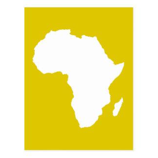 Golden Puppy Audacious Africa Postcard