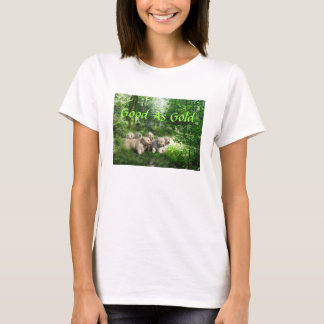 Golden Pups DOUBLE QUOTE T-Shirt Good As Gold