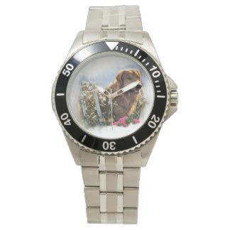 Golden Retriever Art Watch