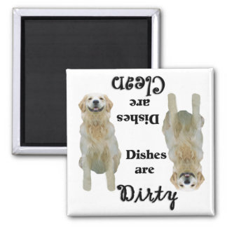 Golden Retriever Dishwasher Magnet