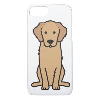 Golden Retriever Dog Cartoon iPhone 8/7 Case