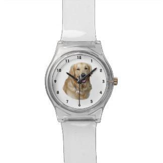 Golden Retriever dog photo portrait Watch