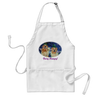 Golden Retriever Fairy Hungry Standard Apron