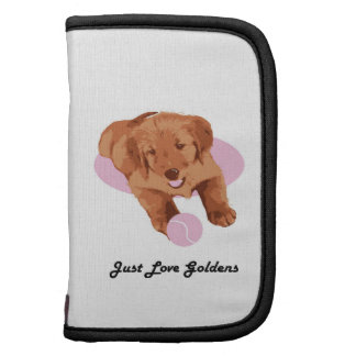 Golden Retriever Mini Folio Folio Planner
