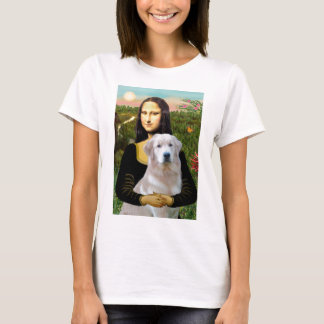 Golden Retriever (Ok13) - Mona Lisa T-Shirt