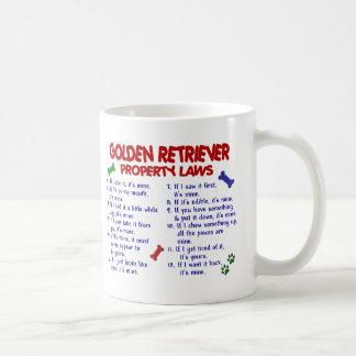 Golden Retriever Property Laws 2 Classic White Coffee Mug