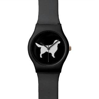 Golden Retriever Silhouette Watch