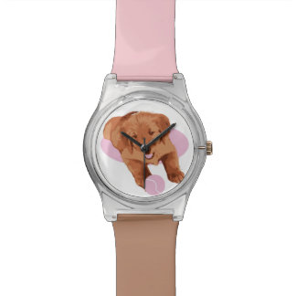 Golden Retriever Watch, Puppy, Just Love Goldens Watch