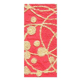 Golden Rings. Full Colour Rack Card