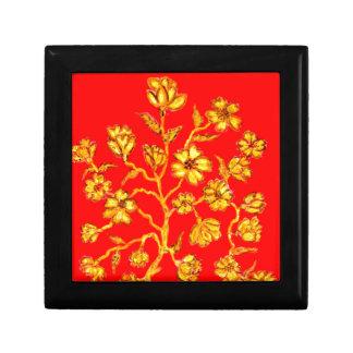 Golden Sakura Art Gift Box