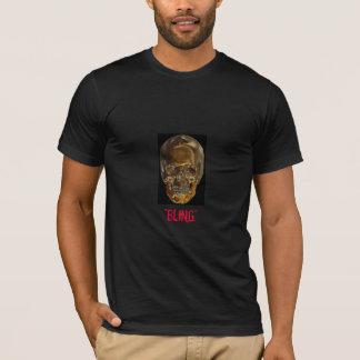 """GOLDEN SkULL , """"BLING"""" T-Shirt"""