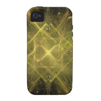 Golden Sky Explosion iPhone 4 Cases